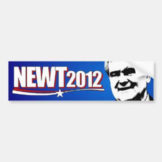 Newt Gingrich 2012 Pegatina Para Auto