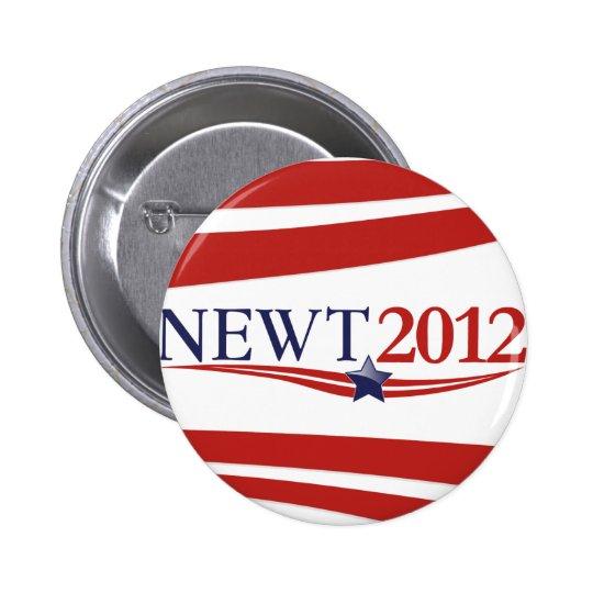 Newt Gingrich 2012 Pinback Button