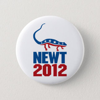 Newt Gingrich 2012 Pinback Button