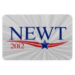 Newt Gingrich 2012 Rectangular Photo Magnet
