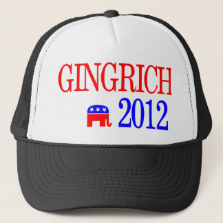 Newt Gingrich 2012 Republican Presidential Trucker Hat