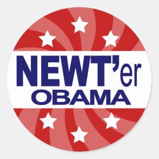 NEWT Gingrich 2012 Round Sticker