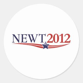 Newt Gingrich 2012 Stickers