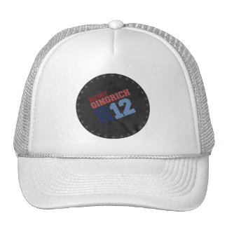 NEWT GINGRICH 2012 SWING VOTE TRUCKER HAT