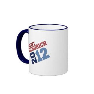 NEWT GINGRICH 2012 SWING VOTE RINGER COFFEE MUG