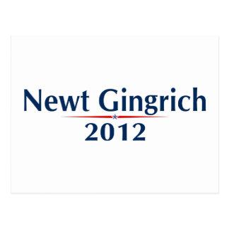 Newt Gingrich 2012 (v101) Postcard