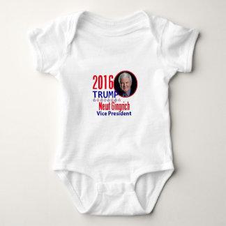Newt GINGRICH 2016 Baby Bodysuit