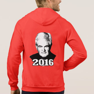 NEWT GINGRICH 2016 CANDIDATE HOODY