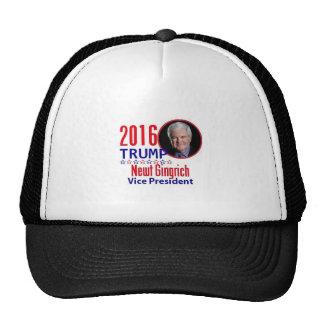 Newt GINGRICH 2016 Trucker Hat