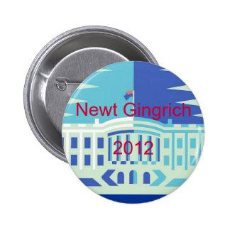 Newt Gingrich 2 Inch Round Button