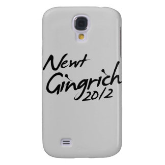 NEWT GINGRICH AUTOGRAPH 2012 GALAXY S4 COVER