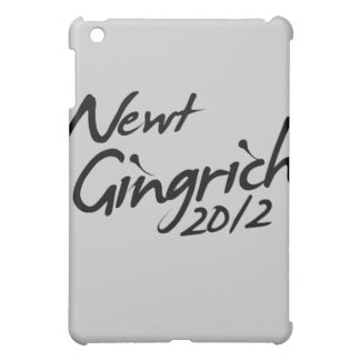NEWT GINGRICH AUTOGRAPH 2012 iPad MINI COVERS