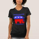 Newt Gingrich Camisetas