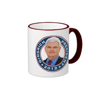 Newt Gingrich Conservative for President Mugs