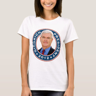 Newt Gingrich Conservative for President T-Shirt