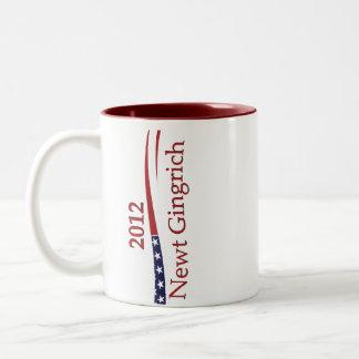 Newt Gingrich Drinkware Two-Tone Coffee Mug
