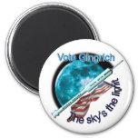 Newt Gingrich - el límite del cielo Imán Para Frigorífico
