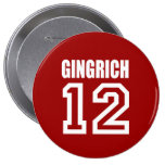 NEWT GINGRICH Election Gear Button
