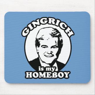 Newt Gingrich es mi homeboy Alfombrillas De Raton