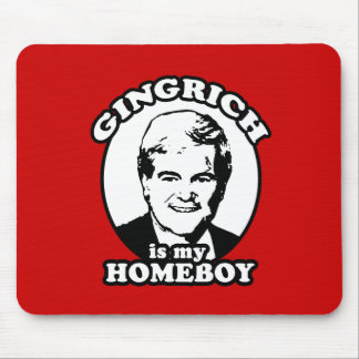 Newt Gingrich es mi homeboy Tapetes De Ratón