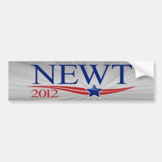 Newt Gingrich for President 2012 Car Bumper Sticker