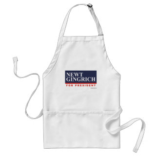 Newt Gingrich for President (2) Adult Apron
