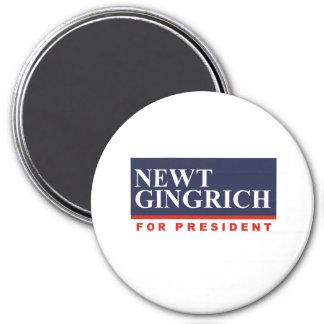 NEWT GINGRICH FOR PRESIDENT (Banner) Magnets