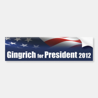 Newt Gingrich for President Bumper Sticker