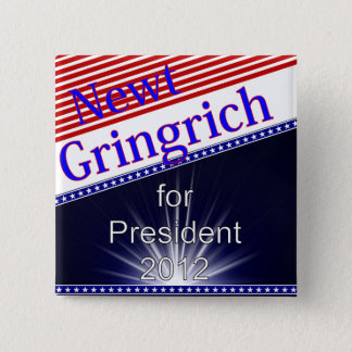 Newt Gingrich For President Explosion Button