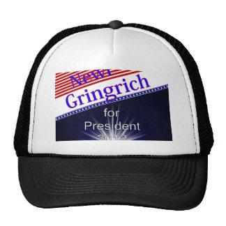 Newt Gingrich For President Explosion Trucker Hat