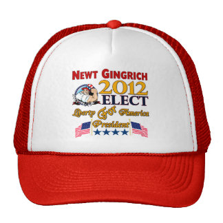 Newt Gingrich For President Trucker Hat