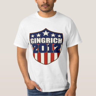 Newt Gingrich for President in 2012 T-Shirt