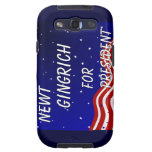 Newt Gingrich For President Night Sky Galaxy S3 Cover