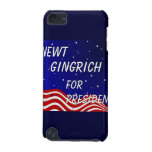 Newt Gingrich For President Night Sky iPod Touch (5th Generation) Cases