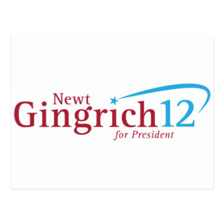 Newt Gingrich for President Post Cards