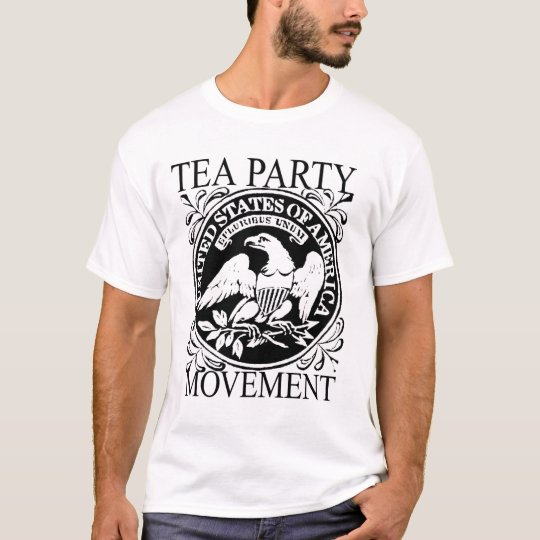 NEWT GINGRICH FOR PRESIDENT TEA PARTY T SHIRT