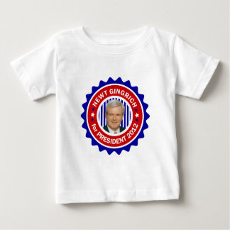 Newt Gingrich for US President 2012 Baby T-Shirt