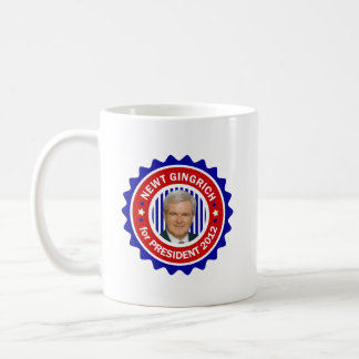 Newt Gingrich for US President 2012 Mugs