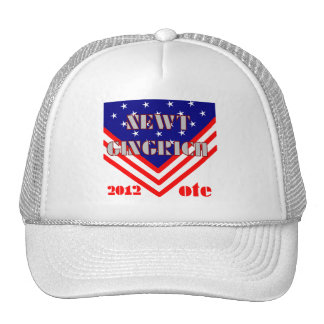 Newt Gingrich Trucker Hat