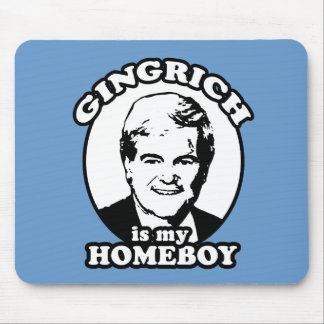 Newt Gingrich is my homeboy Mouse Pad