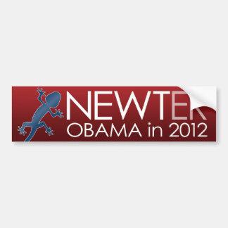 Newt Gingrich - Newter Obama in 2012 Car Bumper Sticker