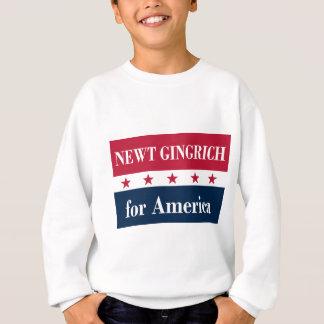 Newt Gingrich para América Sudadera