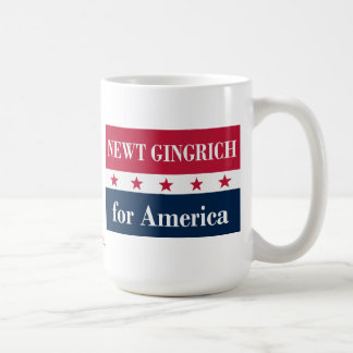 Newt Gingrich para América Taza