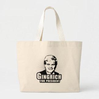 Newt Gingrich para el presidente Bolsa De Mano