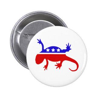 Newt Gingrich para el presidente Pin
