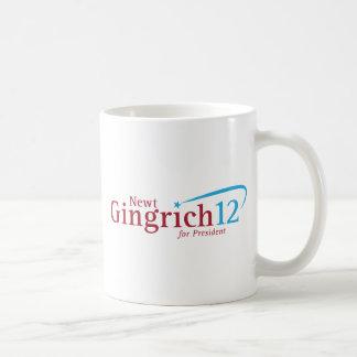 Newt Gingrich para el presidente Taza Clásica