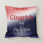 Newt Gingrich para Explosion de presidente Dulled Cojines