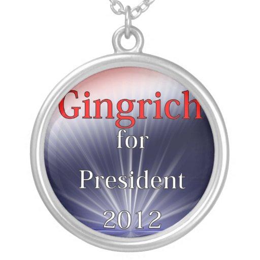 Newt Gingrich para Explosion de presidente Dulled Grímpola