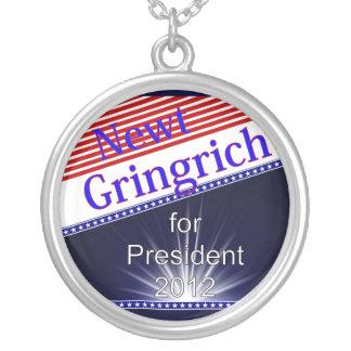 Newt Gingrich para presidente Explosion Pendiente Personalizado