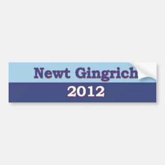 Newt Gingrich Political Car Bumper Sticker
